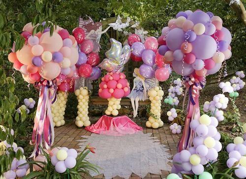 bouquet globos fiestas infantiles