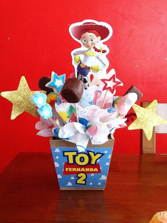 centros de mesa para fiesta de toy story