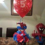centros mesa spiderman