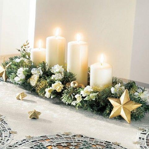 Tendencias en Centros de mesa navideños