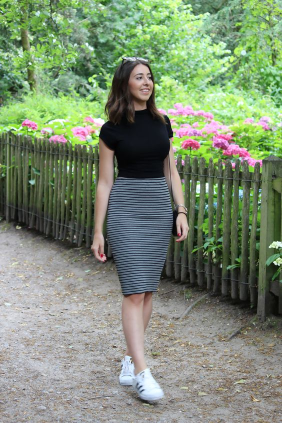 como aprender a vestirse bien con falda