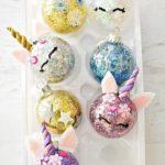 como hacer esferas de unicornio