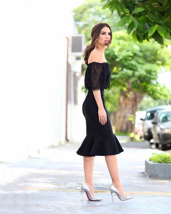como vestirse bien mujeres jovenes 2018 con vestido