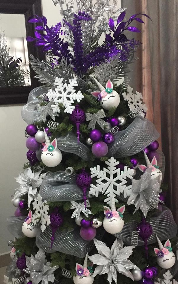 Decoracion Arboles De Navidad De Unicornio 2018 2019 - Arboles-de-decoracion