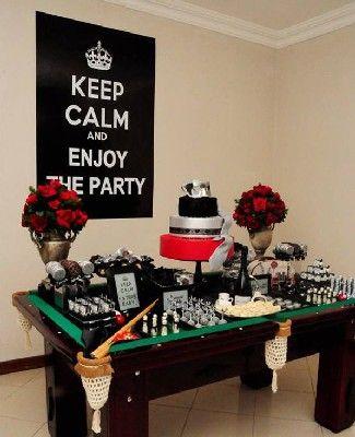 Fiesta De Cumpleaños Para Hombre Temas Para Fiestas De Hombres