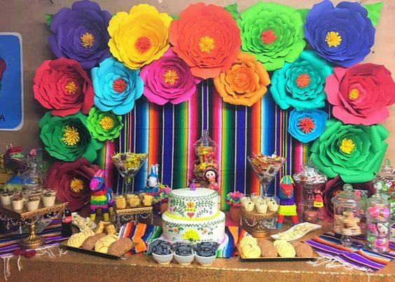 decoracion fiesta mexicana