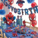 decoracion fiesta spiderman