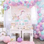 decoracion fiesta unicornio