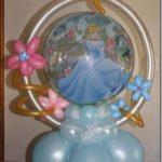 decoracion globos cenicienta