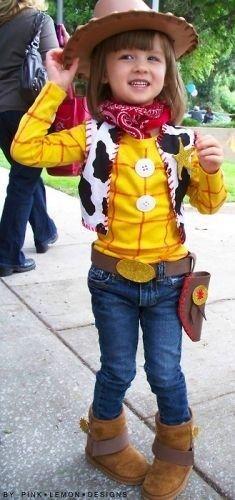 disfraz de toy story para niña
