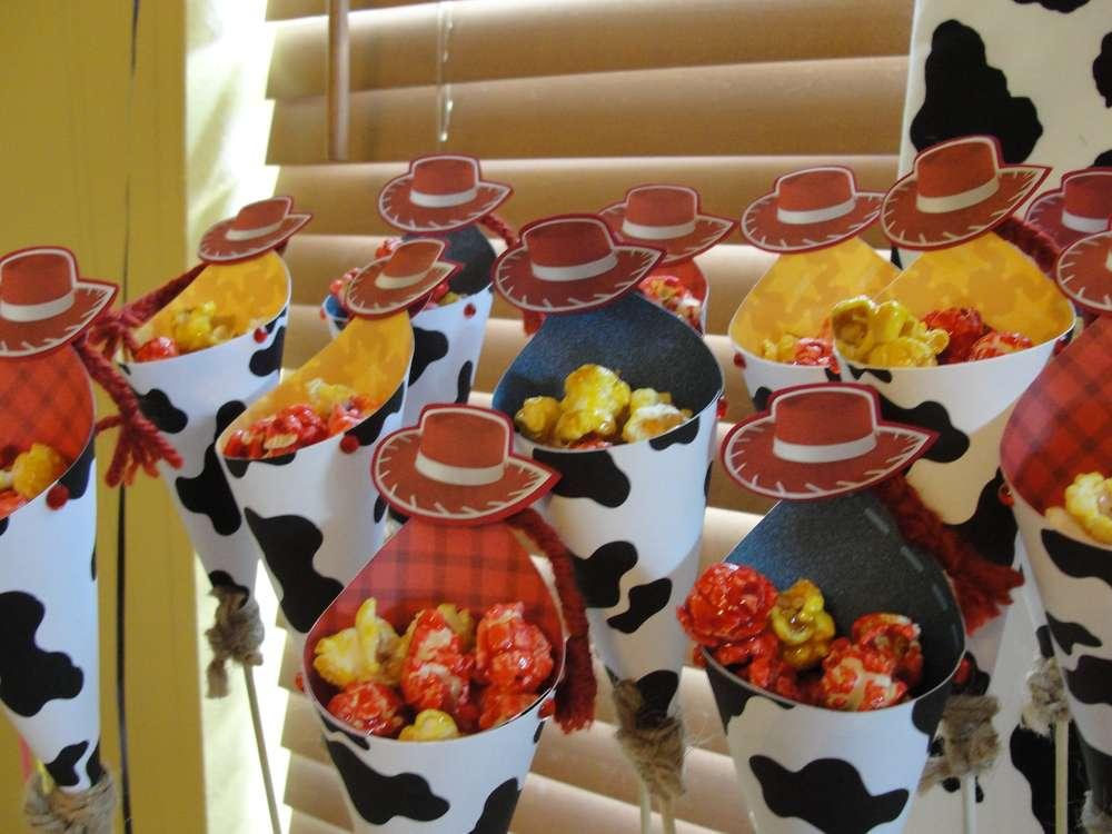 Dulceros para fiesta de Vaquerita de Toy Story