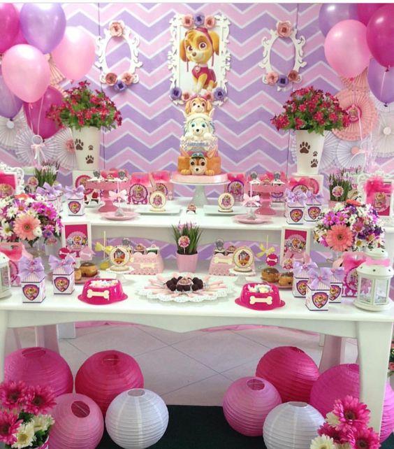 Ideas para fiestas infantiles de niña
