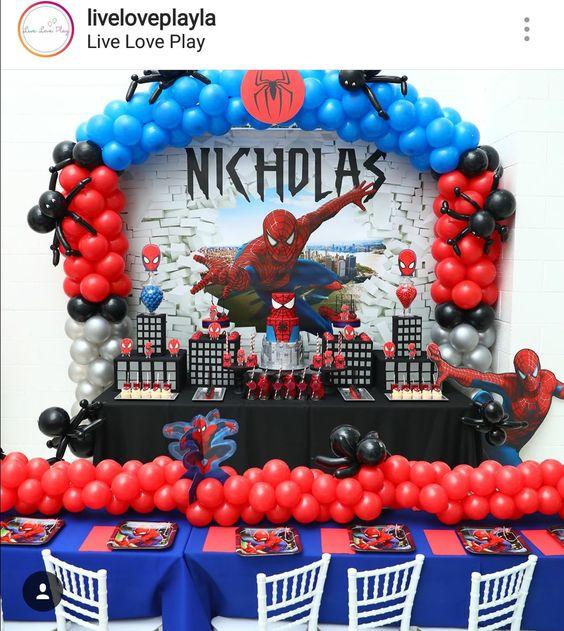ideas fiestas infantiles para niño
