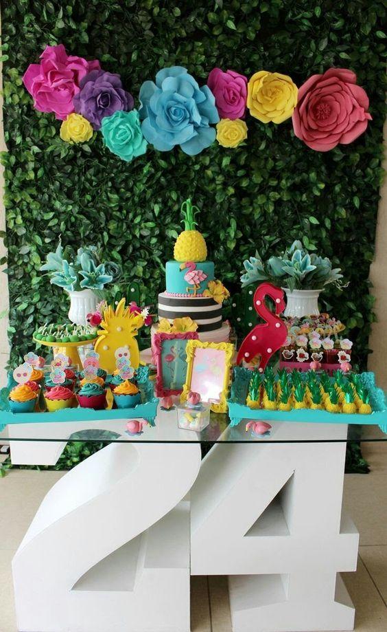 decoración para fiesta de mujeres