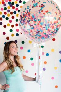 globos con confeti diy
