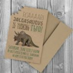 invitaciones jurassic world