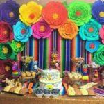 mesa de postres fiesta mexicana