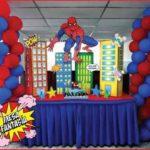 mesa principalde spiderman