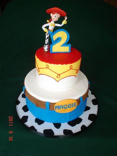pastel para fiesta de jessie