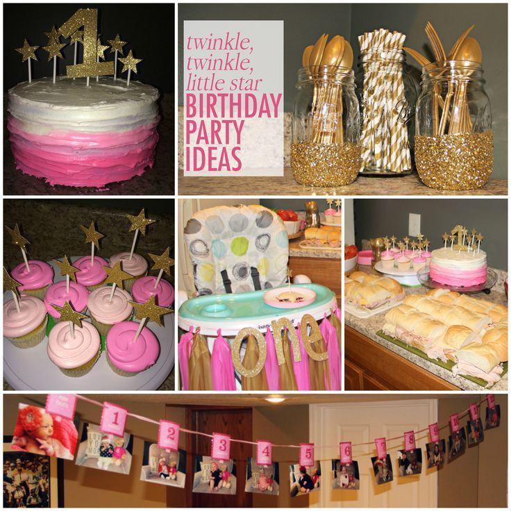 Ideas originales para cumpleaños de un año niña