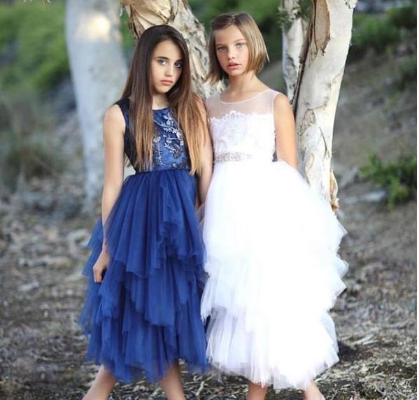 vestido de tul para niñas de 12 años