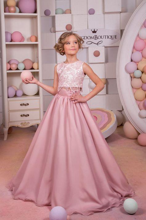 Vestido De Fiesta Para Niña De 12 Años Corto Largo Con