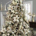 arboles de navidad 2018 blancos