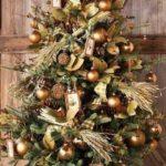 arboles de navidad animados dorados