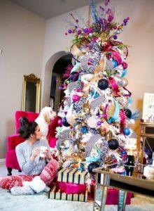 arboles de navidad por color