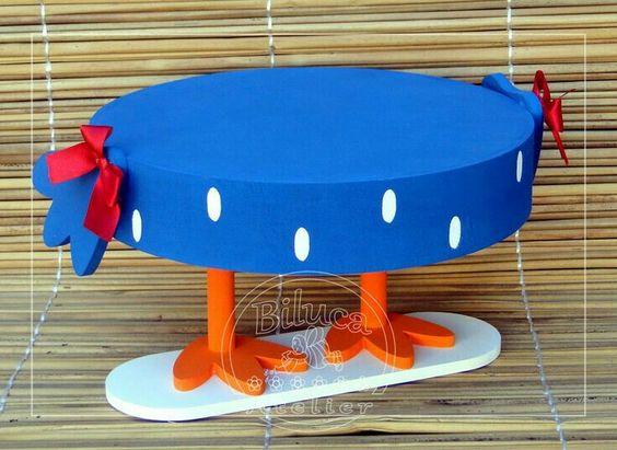 bases para cupcakes caseros para fiestas infantiles