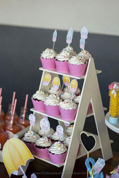 bases para cupcakes de madera