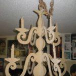candelabros de carton