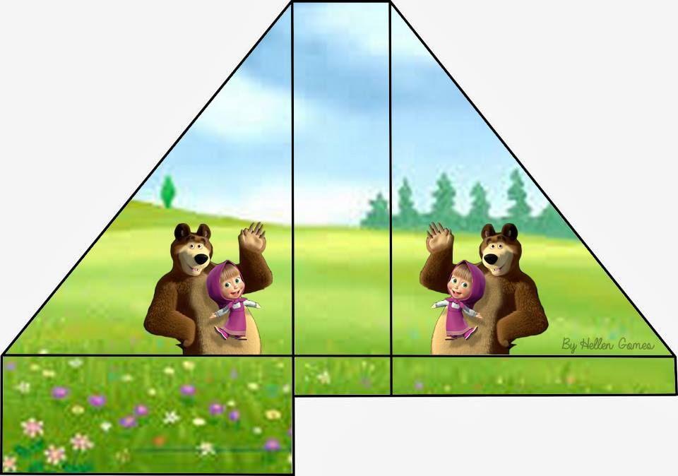 candy bar masha y el oso gratis