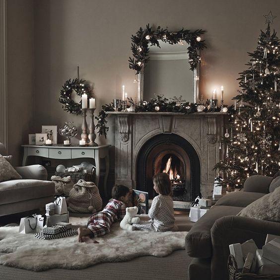 colores de guirnaldas navideñas 2019 para espejos