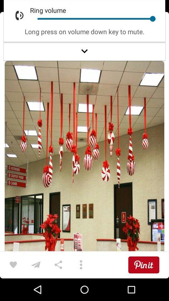 como decorar el techo en navidad