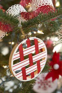 como hacer esferas navideñas economicas