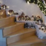 como hacer manualidades faciles navideñas - nacimiento para escaleras