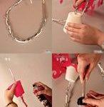 como hacer un candelabro colgante