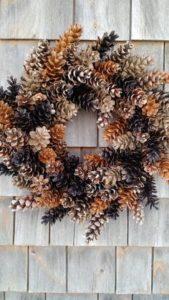 coronas navideñas economicas para navidad