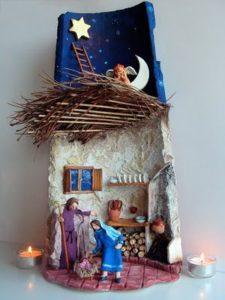 como montar y decorar un nacimiento navideño