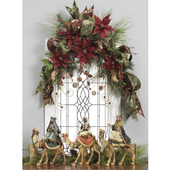 decoracionde guirnaldas navideñas 2019