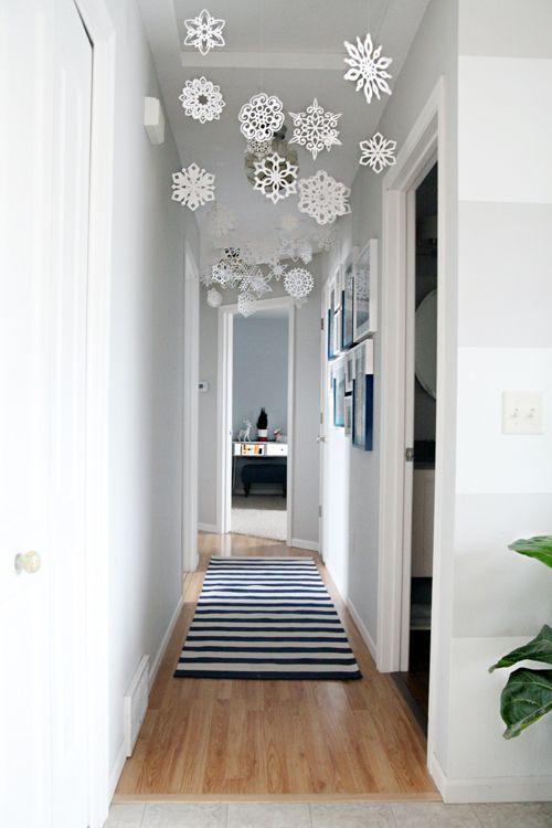 decoracion navideña para techos