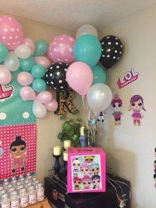 decoracion para cumpleaños de lol surprise