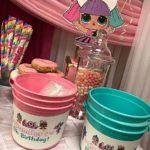 dulceros para fiesta de lol surprise