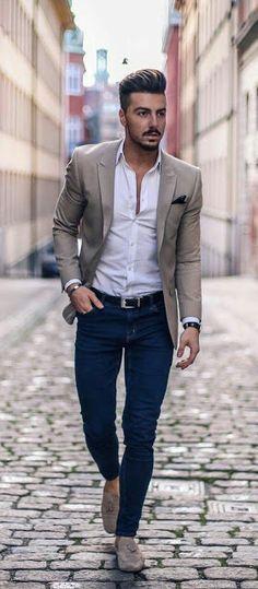 estilo casual para hombres de negocios