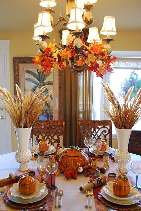 ideas de decoracion para el dia de accion de gracias