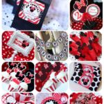 kit para imprimir gratis de Minnie mouse