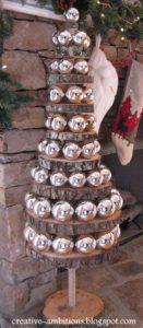 manualidades para navidad con madera low cost