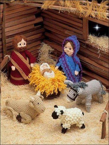 nacimiento navideño de madera