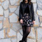 outfit con botines y vestido
